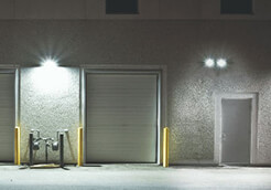 perimeter lighting and secuity by ElectricMD - Electricians in Barrie, Newmarket, North York & York Region