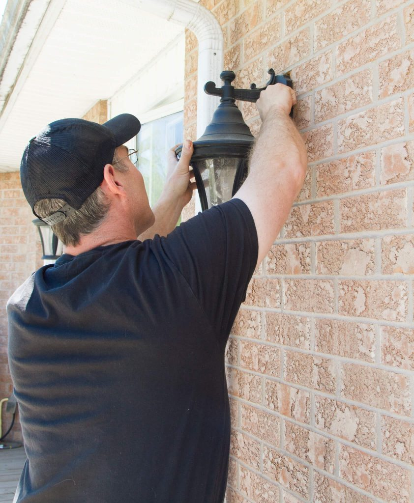 exterior lighting installed by ElectricMD - Electricians in Barrie, Newmarket, North York & York Region