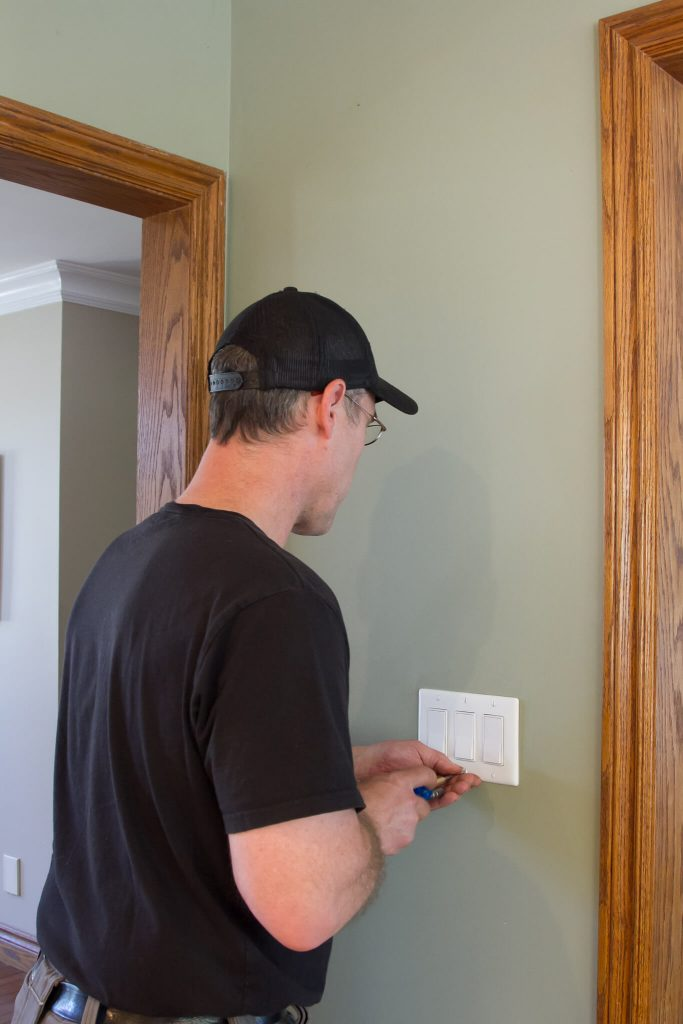 switches installed by ElectricMD - Electricians in Barrie, Newmarket, North York & York Region