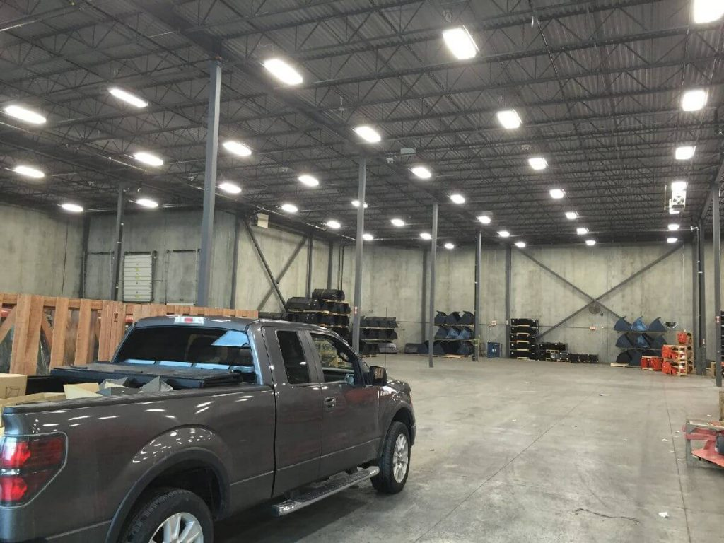warehouse lighting upgrades by ElectricMD - Electricians in Barrie, Newmarket, North York & York Region