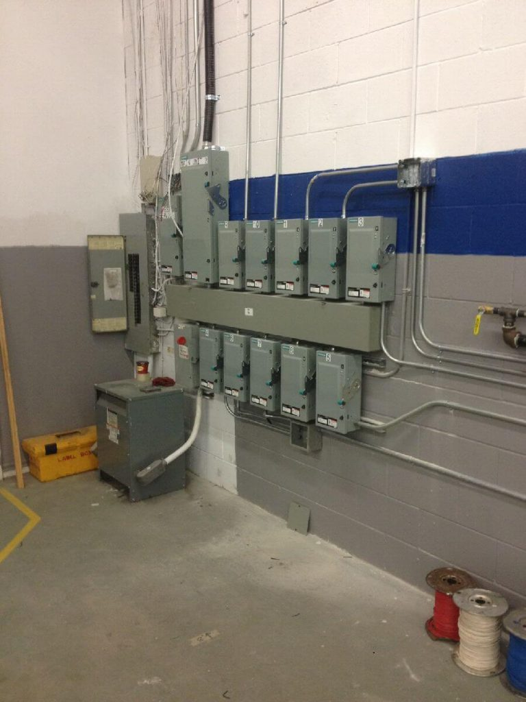 industrial disconnects installed by ElectricMD - Electricians in Barrie, Newmarket, North York & York Region
