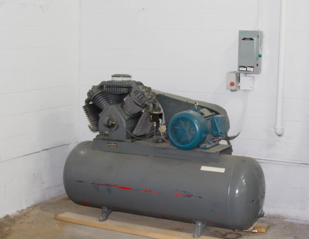 compressor electrical installation by ElectricMD - Electricians in Barrie, Newmarket, North York & York Region