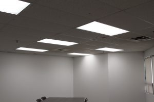 flat panel lighting installed by ElectricMD - Electricians in Barrie, Newmarket, North York & York Region