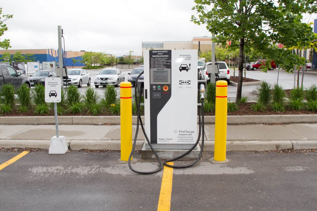 commercial ev chargers installed by ElectricMD - Electricians in Barrie, Newmarket, North York & York Region